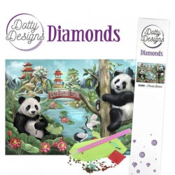 (DDD10002)Dotty Designs Diamonds - Panda Bears