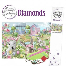 (DDD10003)Dotty Designs Diamonds - Baby Animals