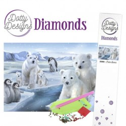 (DDD10004)Dotty Designs Diamonds - Polar Bears
