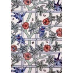 Pergamano vellum Blue Birds (1S) (61702)