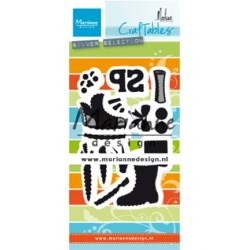 (CR1489)Craftables Schoentje zetten by Marleen