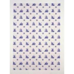 Pergamano vellum Delft Blue (1S) (61706)