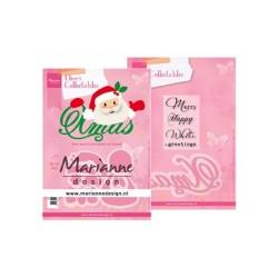 (COL1477)Collectables Eline's Santa Xmas