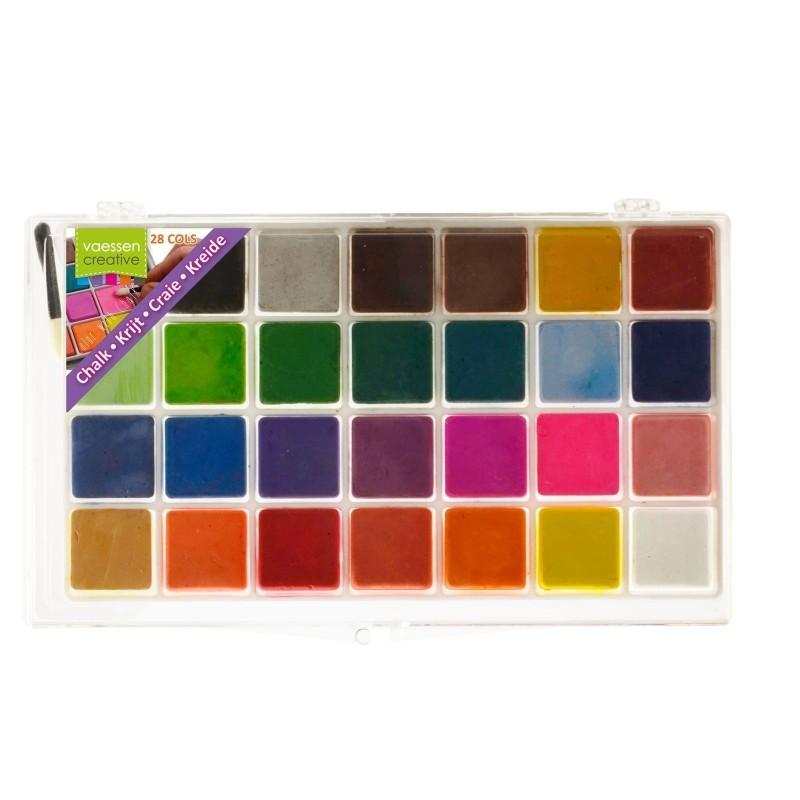 (3014-003)Chalk x28 assortment