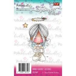 (PD7467)Polkadoodles stamp Winnie Blessings