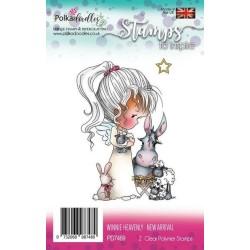 (PD7469)Polkadoodles stamp Winnie New arrival