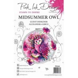 (PI046)Pink Ink Desings Midsummer Owl