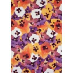 Pergamano vellum Violets (1S) (61707)
