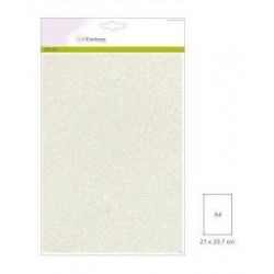 (001290/0158)CraftEmotions glitter paper 5 Sh champagne +/- 29x21cm 120gr