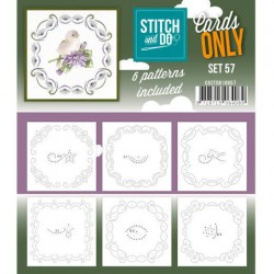 (COSTDO10057)Stitch & Do - Cards only - Set 57