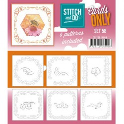 (COSTDO10058)Stitch & Do - Cards only - Set 58