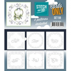 (COSTDO10059)Stitch & Do - Cards only - Set 59