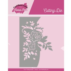 (CDCCD10002)Dies - Yvonne Creations - Floral Pink - Floral Pink Roses