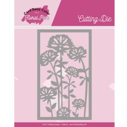 (CDCCD10003)Dies - Yvonne Creations - Floral Pink - Floral Pink Frame