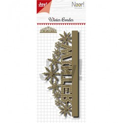 (6002/1333)Cutting dies Noor - Bordure Winter