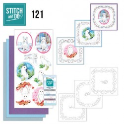 (STDO121)Stitch and Do 121 - Winter Friends