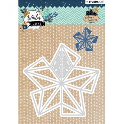 (STENCILWJ232)Studio Light Cutting & Embossing Die Winter Joys nr.232