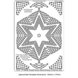 (TP3598E)PCA® - EasyEmboss Mesmerising Christmas Star
