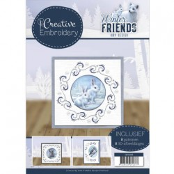 (CB10008)Creative Embroidery 8 - Amy Design - Winter Friends