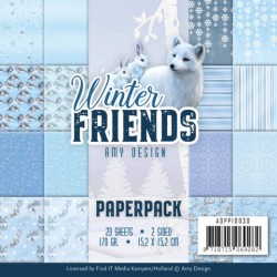 (ADPP10030)Paperpack - Amy Design - Winter Friends