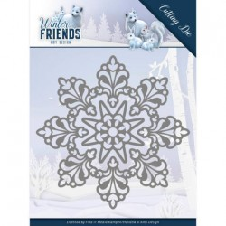 (ADD10191)Dies - Amy Design - Winter Friends - Snow Crystal
