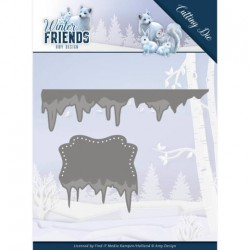 (ADD10192)Dies - Amy Design - Winter Friends - Ice Border