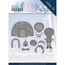 (ADD10193)Dies - Amy Design - Winter Friends - Eskimo