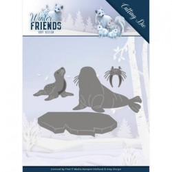 (ADD10194)Dies - Amy Design - Winter Friends - Polar Friends