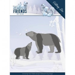 (ADD10195)Dies - Amy Design - Winter Friends - Polar Bears