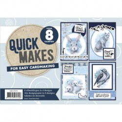 (QM10001)Quick Makes - Amy Design - Winter Friends