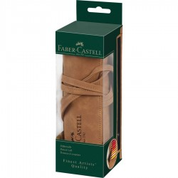 (180010)Faber-Castell Art & Graphic pencil roll, empty