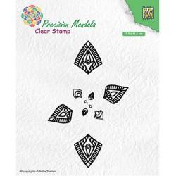 (MANCS001)Nellie`s Choice Clearstamp - Mandala-1