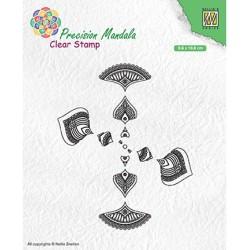 (MANCS002)Nellie`s Choice Clearstamp - Mandala-2