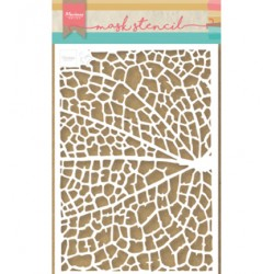 (PS8041)Marianne Design Craft stencil: Tiny's Leaf Grain