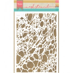 (PS8042)Marianne Design Craft stencil: Tiny's Foam