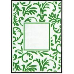 Embossing folder floral frame (CTFD 3047)