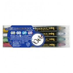(TC-8100/4V)Zig Clean Color Dot Metallic 4 color set