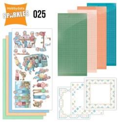 (SPDO025)Sparkles Set 25 - Active Life