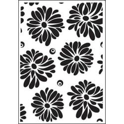 Embossing folder flowers (CTFD 3027)