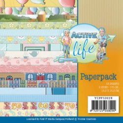 (YCPP10028)Paperpack - Yvonne Creations - Active Life