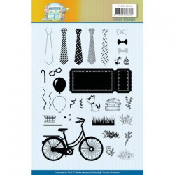 (YCCS10054)Clear Stamps - Yvonne Creations - Active Life