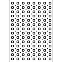Embossing folder spots & dots (CTFD 3024)