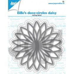 (6002/1401)Cutting dies Bille's deco circle daisy