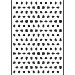 Embossing folder small flowers (CTFD 3022)