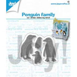 (6002/1417)Cutting embossing debossing dies penguin family