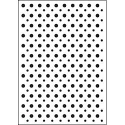 Embossing folder spots (CTFD 3020)