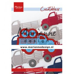 (LR0641)Creatables Truck