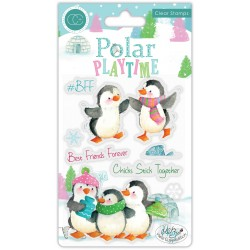 (CCSTMP022)Craft Consortium Polar Playtime BFF Clear Stamps