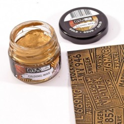 (COC-003)COOSA Crafts • Gilding wax metal gold 20ml