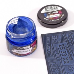 (COC-008)COOSA Crafts • Gilding wax metal blue 20ml